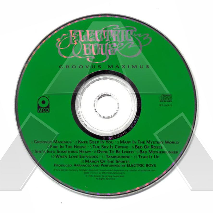 Electric Boys ★ Groovus Maximus (cd album US 7921432)