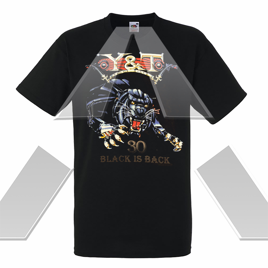 Y&T ★ Black is Back 30th Years Anniversary Tour 2012 (t-shirt)