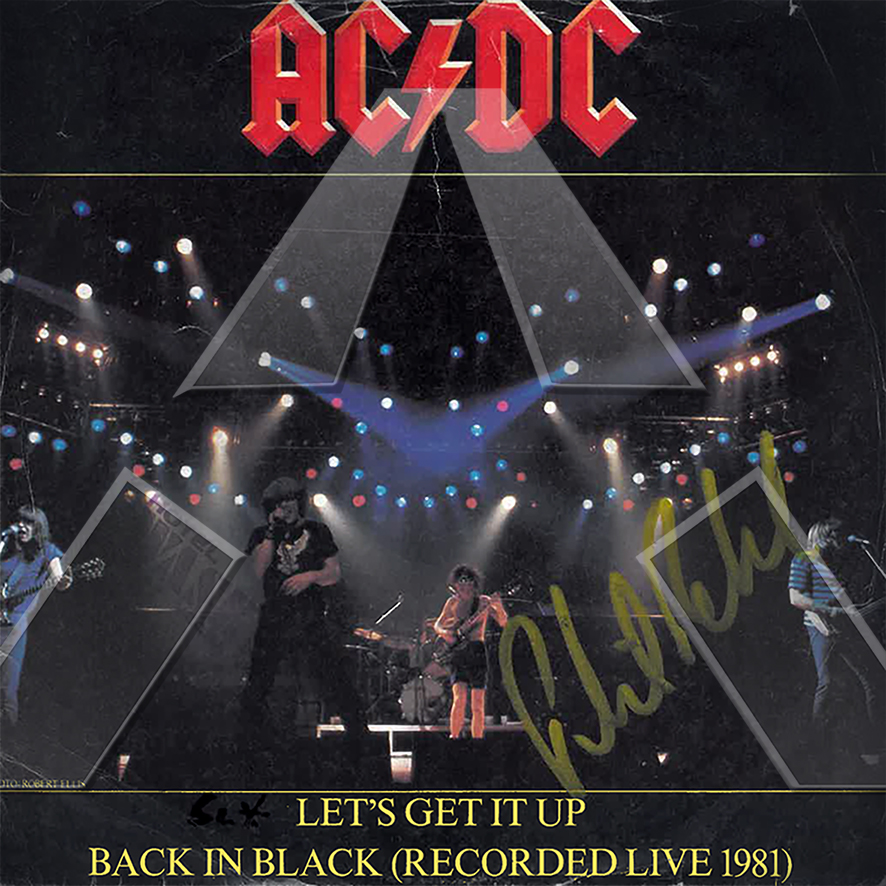 AC/DC ★ Let´s Get it Up (vinyl single - EU ATL11706)