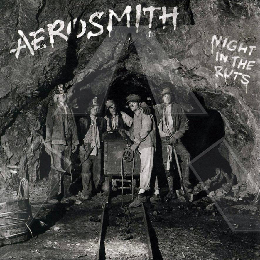Aerosmith ★ Night in the Ruts (cd album EU)
