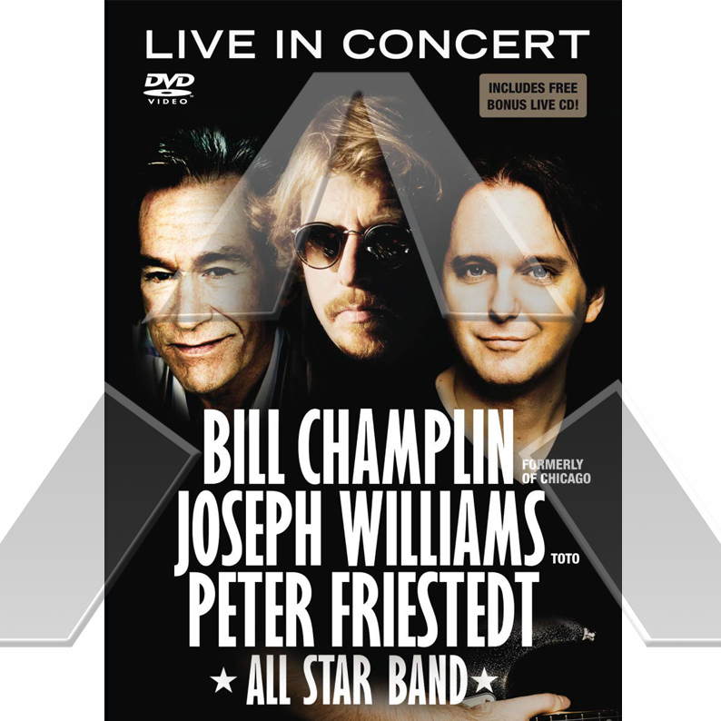 Champlin Williams Friestedt ★ Live in Concert (cd album & dvd EU)