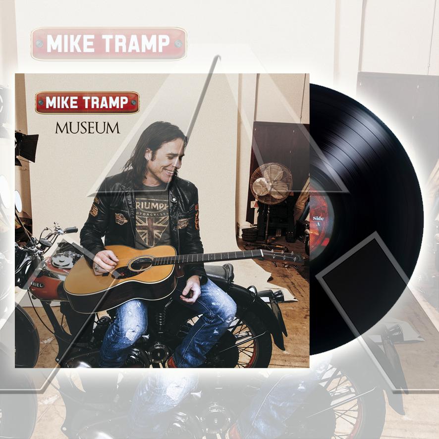 Mike Tramp ★ Museum (vinyl album - EU TARGETLP1402)