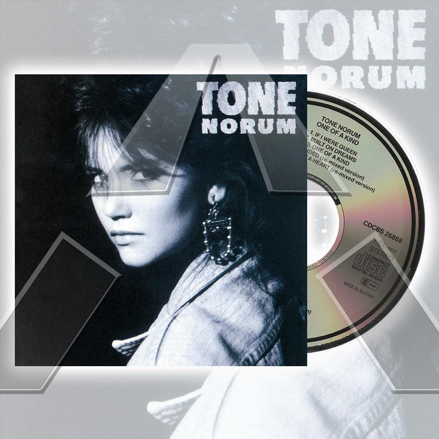 Tone Norum ★ One of a Kind (cd album - EU CDCBS26868)