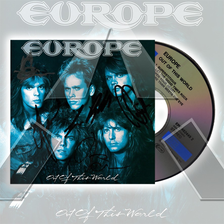 Europe ★ Out of This World (cd album - 2 versions)