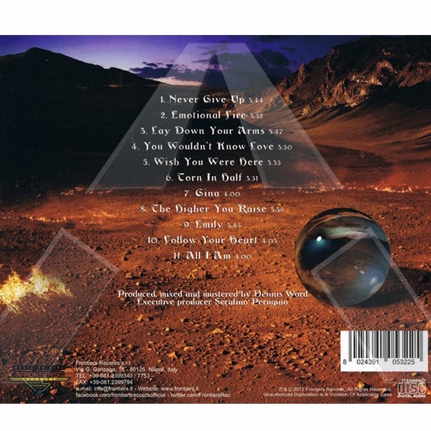 Sunstorm ★ Emotional Fire (cd album EU FRCD532)