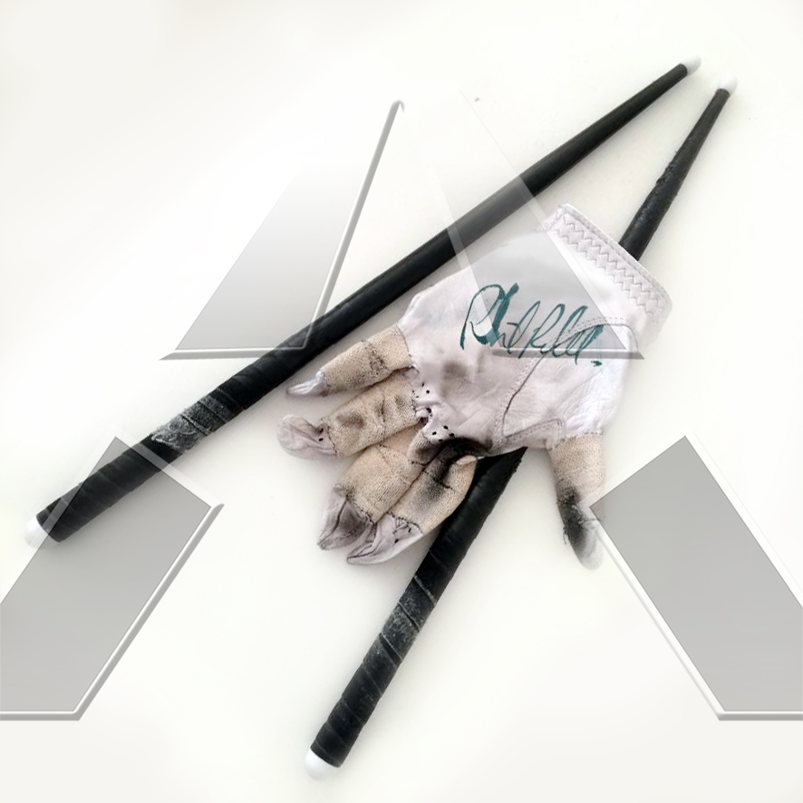 Phil Rudd ★ Signature Glove & Sticks