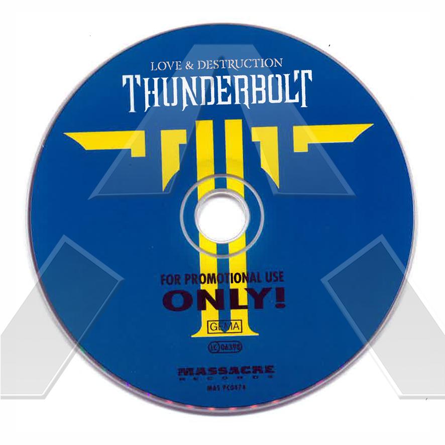 Thunderbolt ★ Love & Destruction (cd promo album EU)