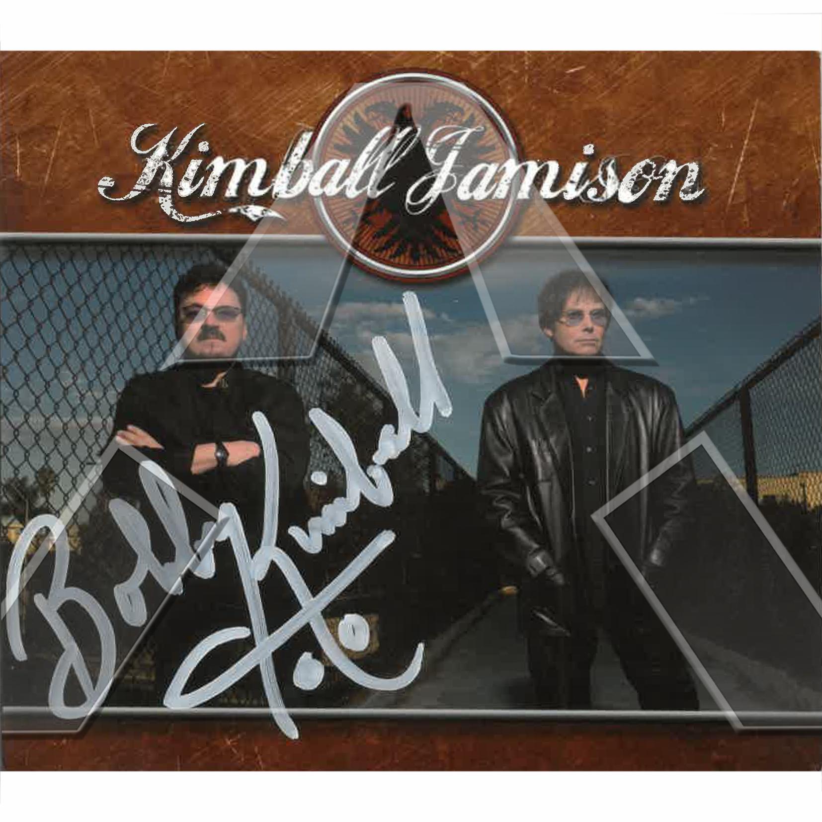 Kimball Jamison ★ Kimball Jamison (cd album & dvd EU FRCD530 signed)