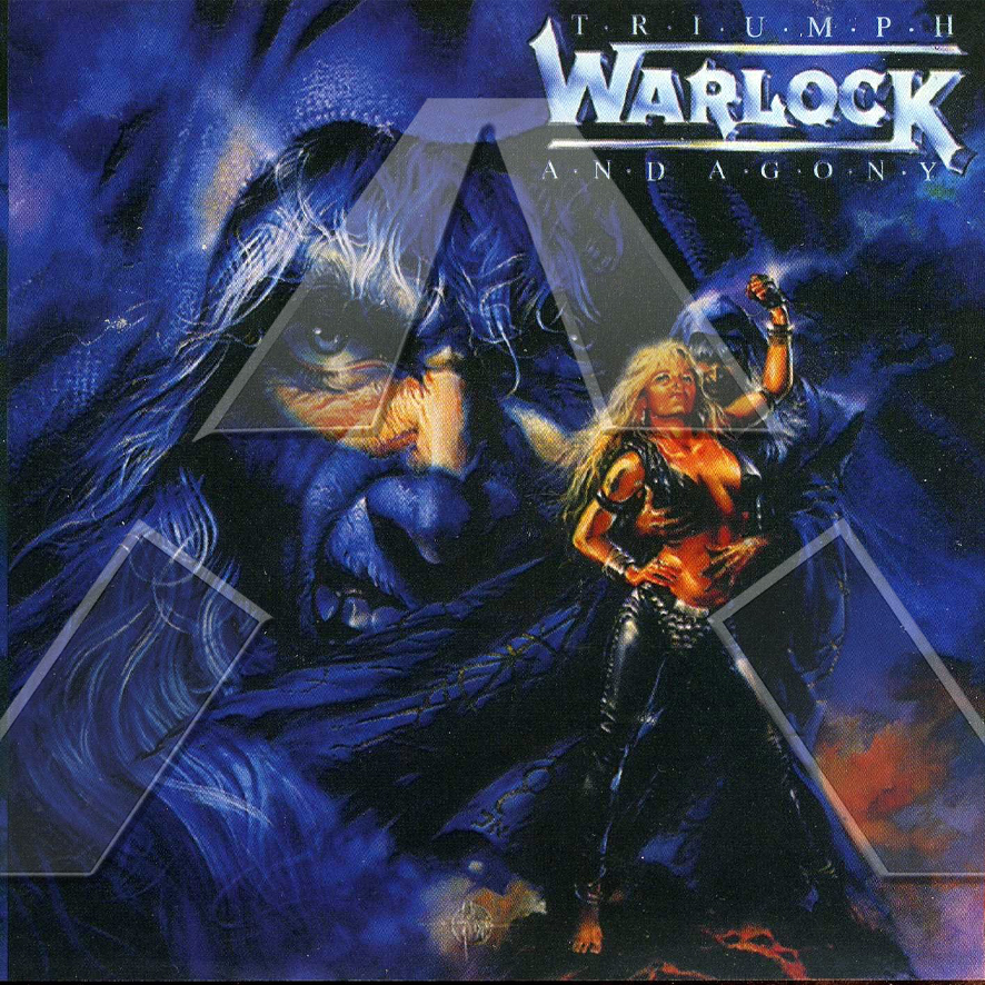 Warlock ★ Triumph and Agony (cd album - GER 8328042)