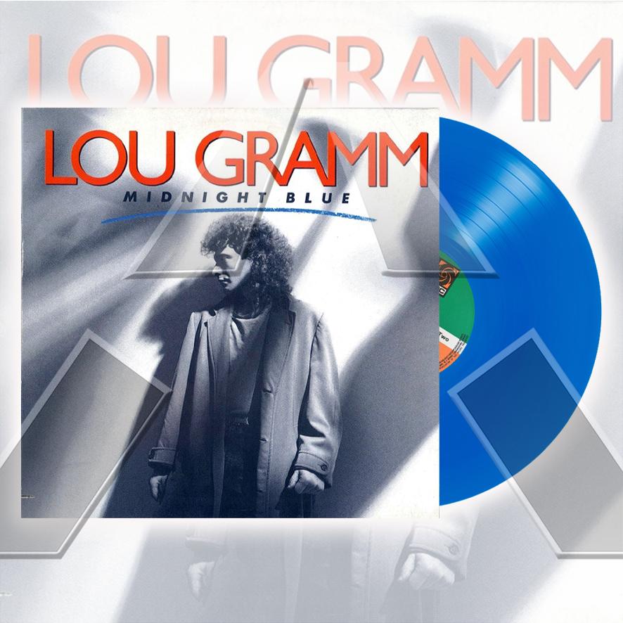 Lou Gramm ★ Midnight Blue (vinyl maxi - GER 7867230)