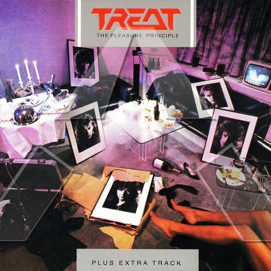 Treat ★ The Pleasure Principle (cd album - SWE 8269182)
