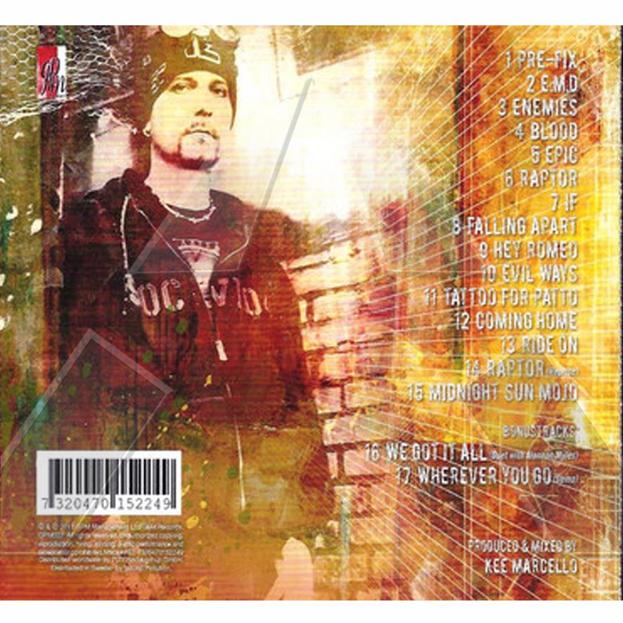 Kee Marcello ★ Redux: Melon Demon Divine (album - 2 versions)