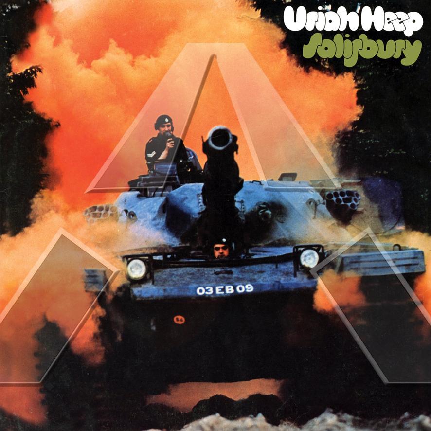 Uriah Heep ★ Salisbury (cd album - EU SMRCD049)