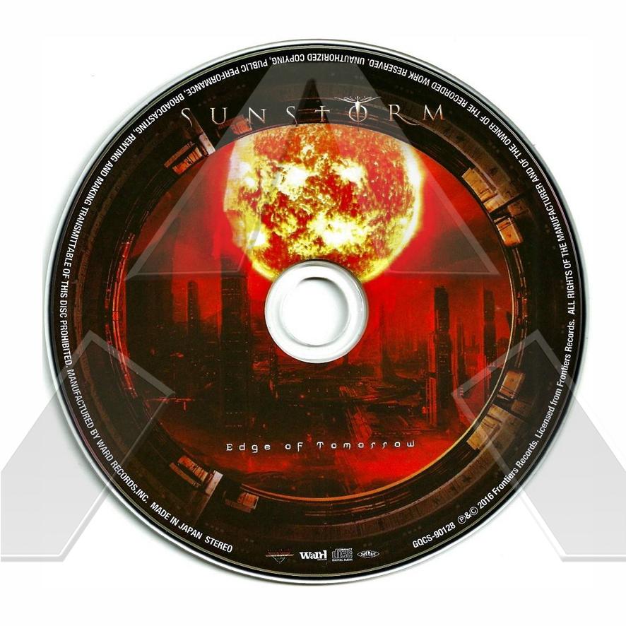 Sunstorm ★ Edge of Tomorrow (cd album EU  FRCD732)