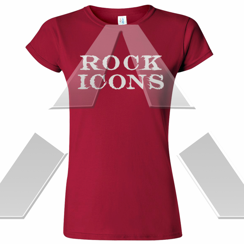 Rock Icons ★ Logo II (t-shirt)