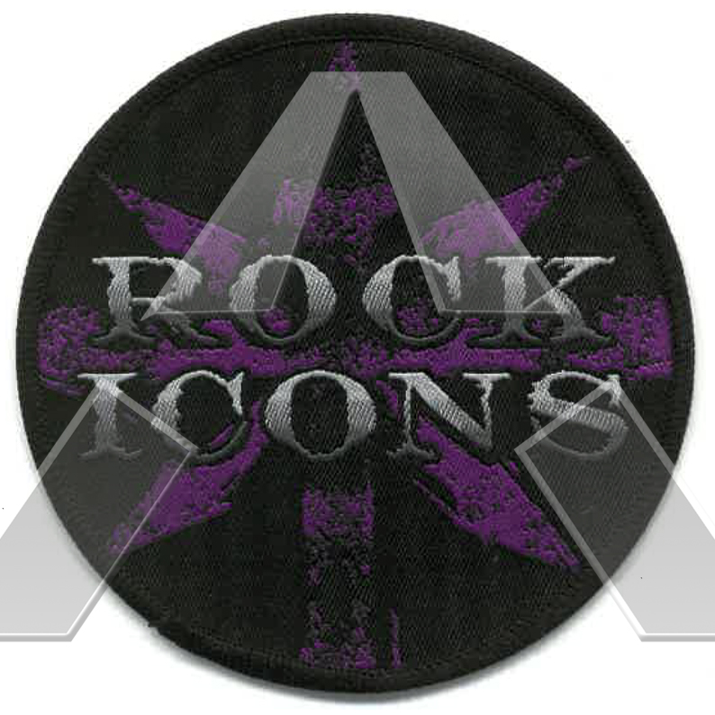 Rock Icons ★ Patch (circle)