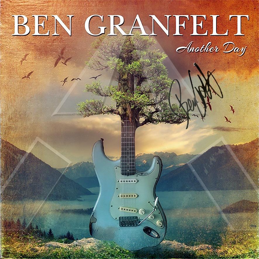 Ben Granfelt ★ Another Day (cd album EU THC004 signed)
