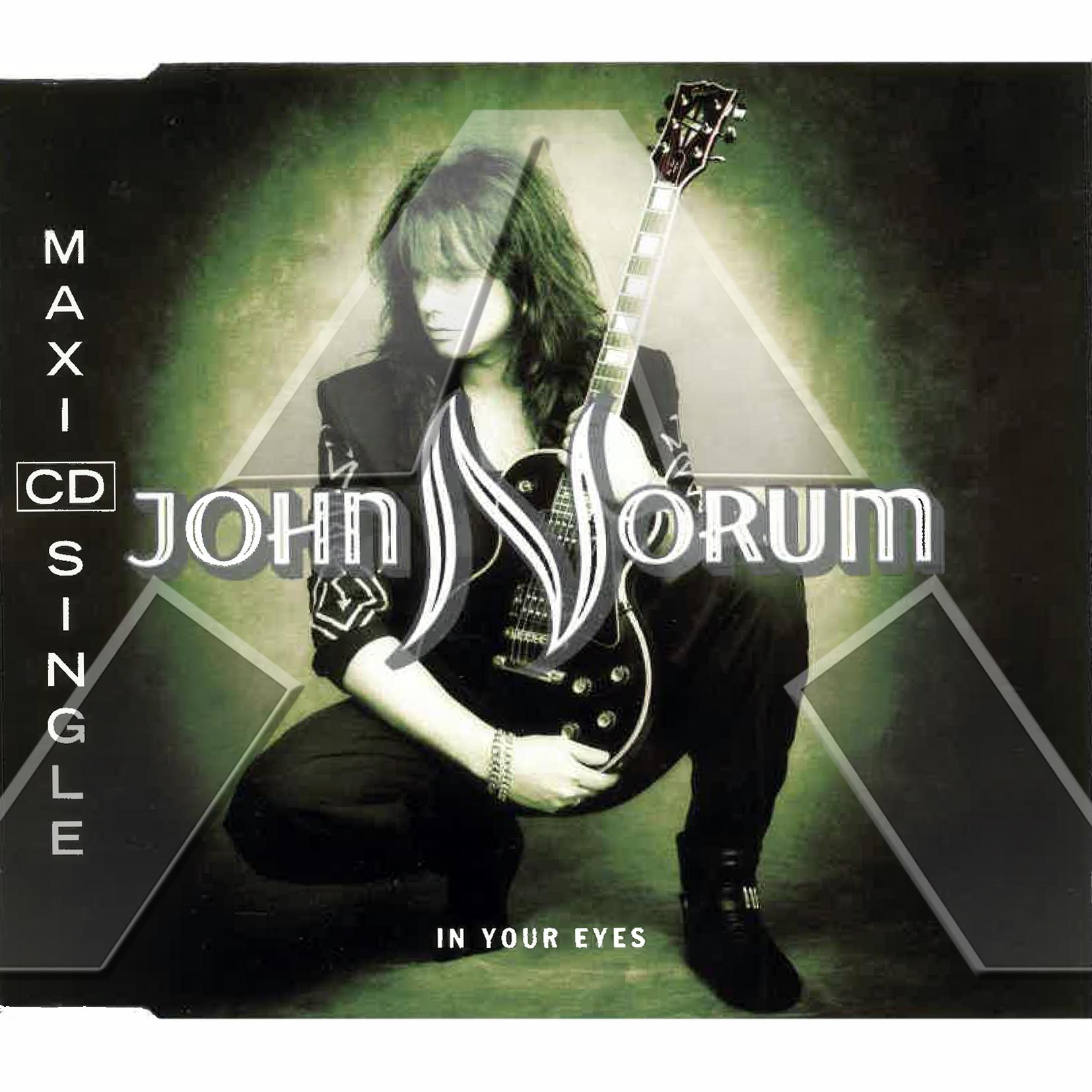 John Norum ★ In Your Eyes (cd maxi single EU)