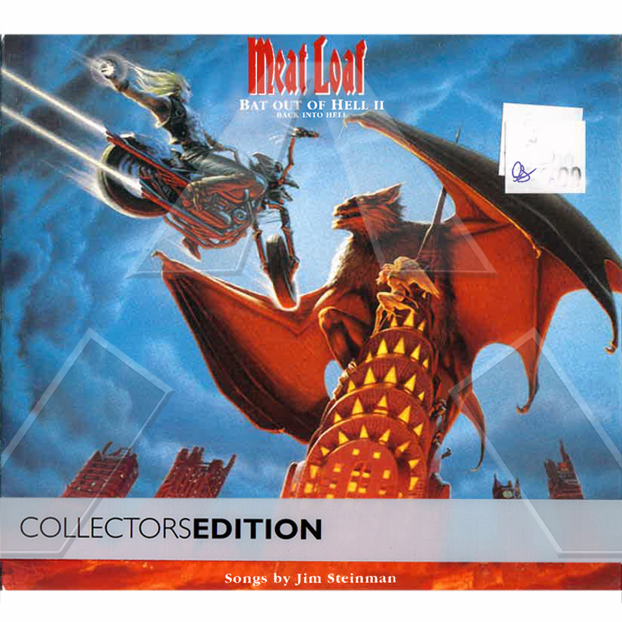 Meat Loaf ★ Bat Out of Hell II - Collectors Edition (cd album & dvd EU)