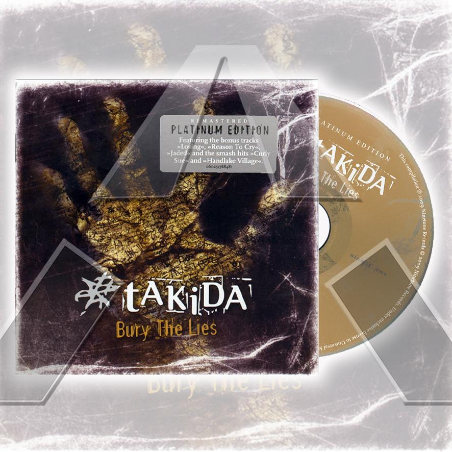 Takida ★ Bury The Lies (cd album - EU 060251788481)
