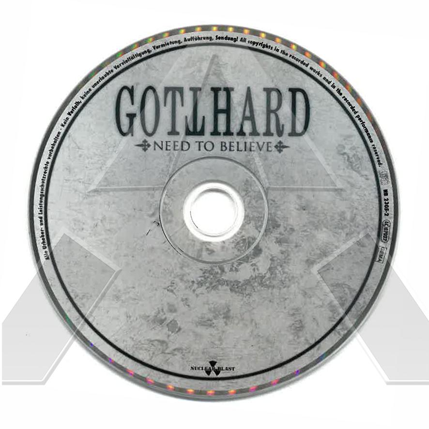 Gotthard ★ Need to Believe (cd album EU signed)