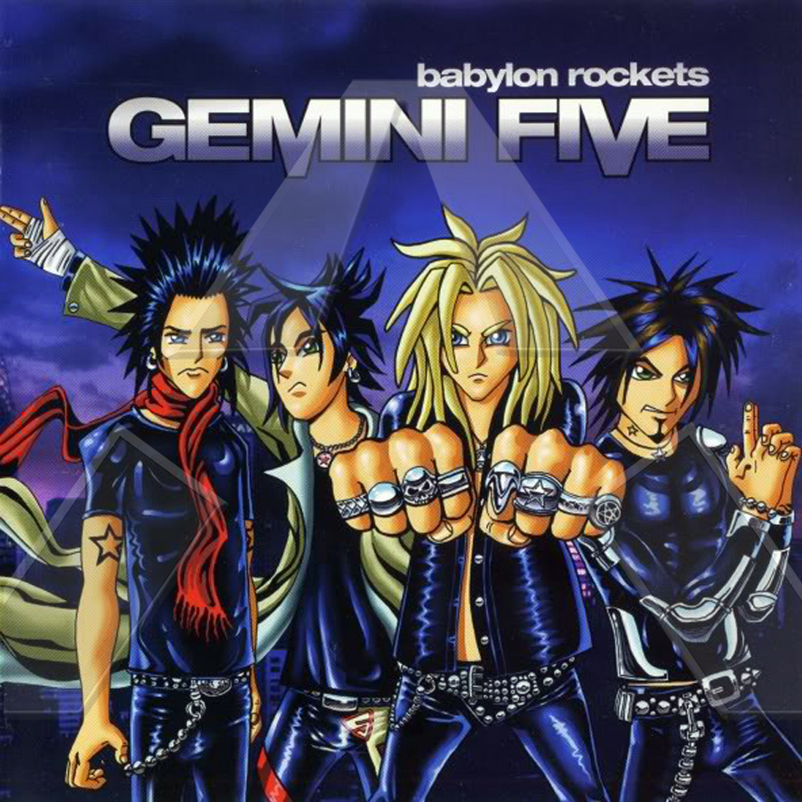 Gemini Five ★ Babylon Rockets (cd album EU 002CD)