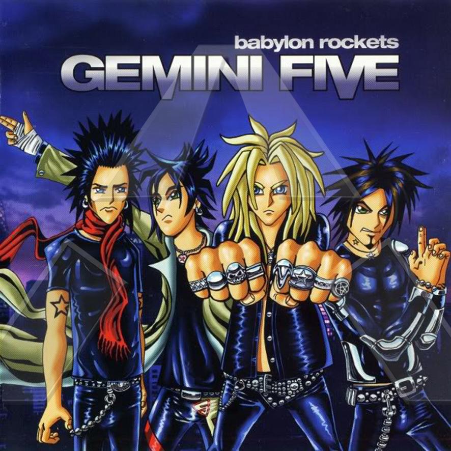 Gemini Five ★ Babylon Rockets (cd album EU 002CD)