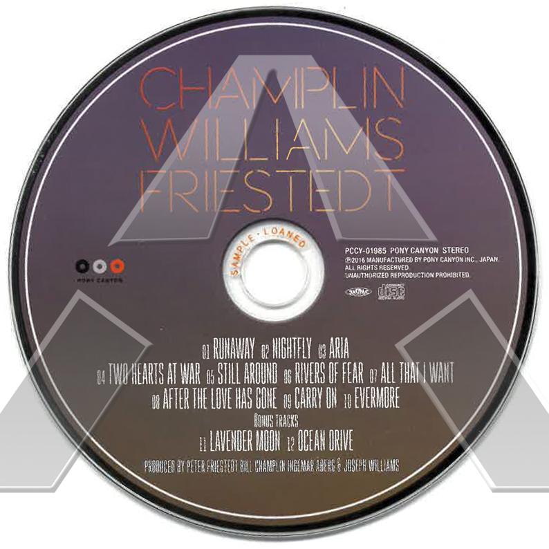 Champlin Williams Friestedt ★ CWF (cd album JPN PCCY01985)