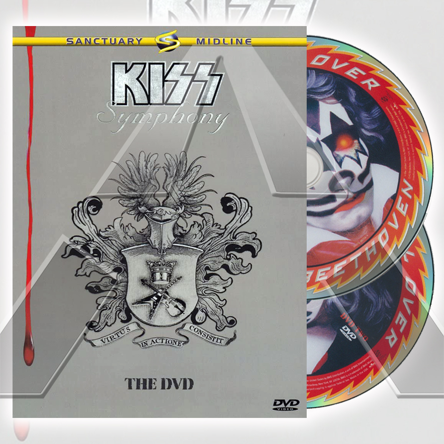 Kiss ★ Symphony: The Dvd (dvd - EU SVE3035)