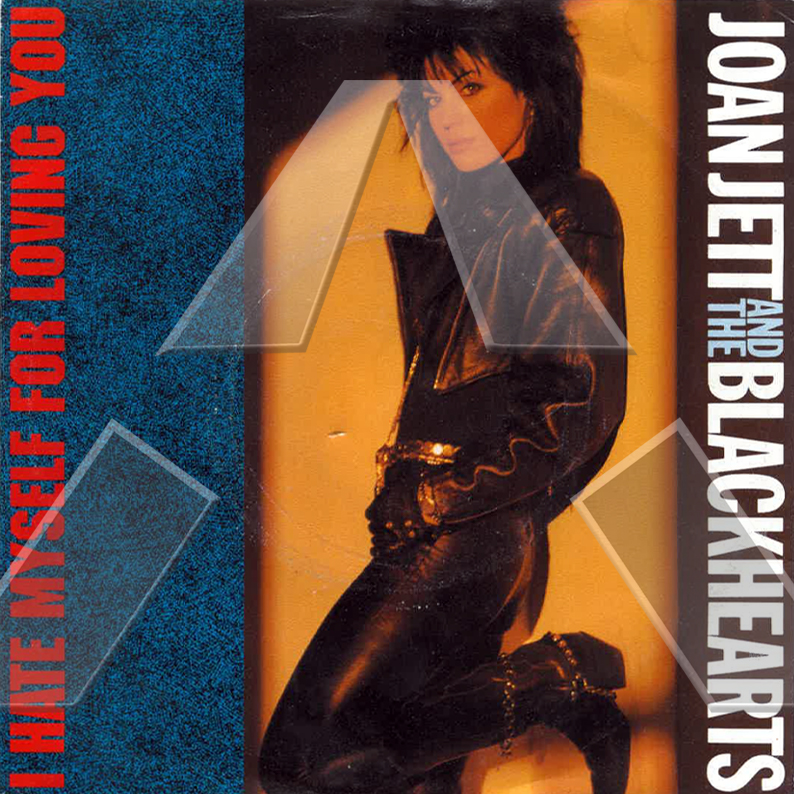 Joan Jett & the Blackhearts ★ I Hate Myself for Loving You (vinyl single EU)