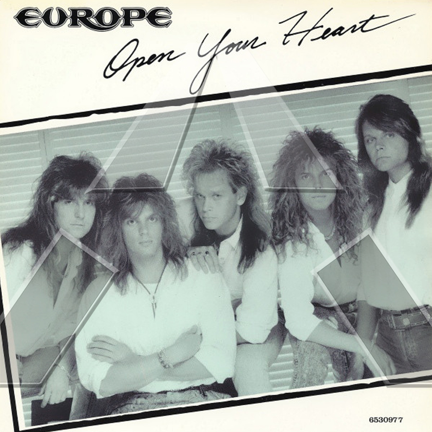 Europe ★ Open Your Heart (vinyl single - EU 6530977)