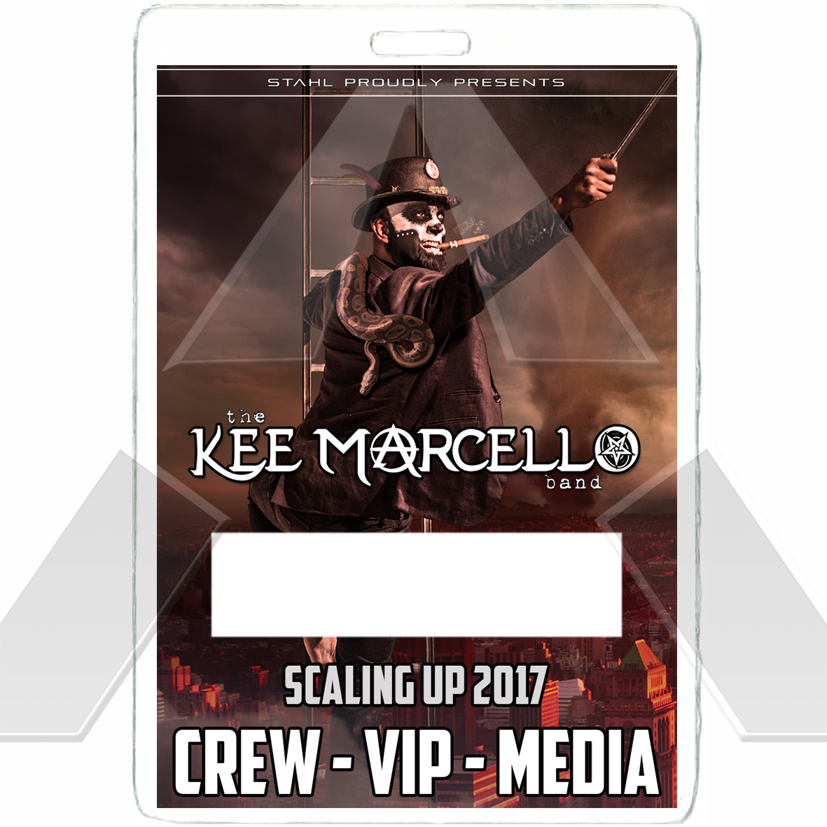 Kee Marcello ★ Scaling up 2017 (tour pass)