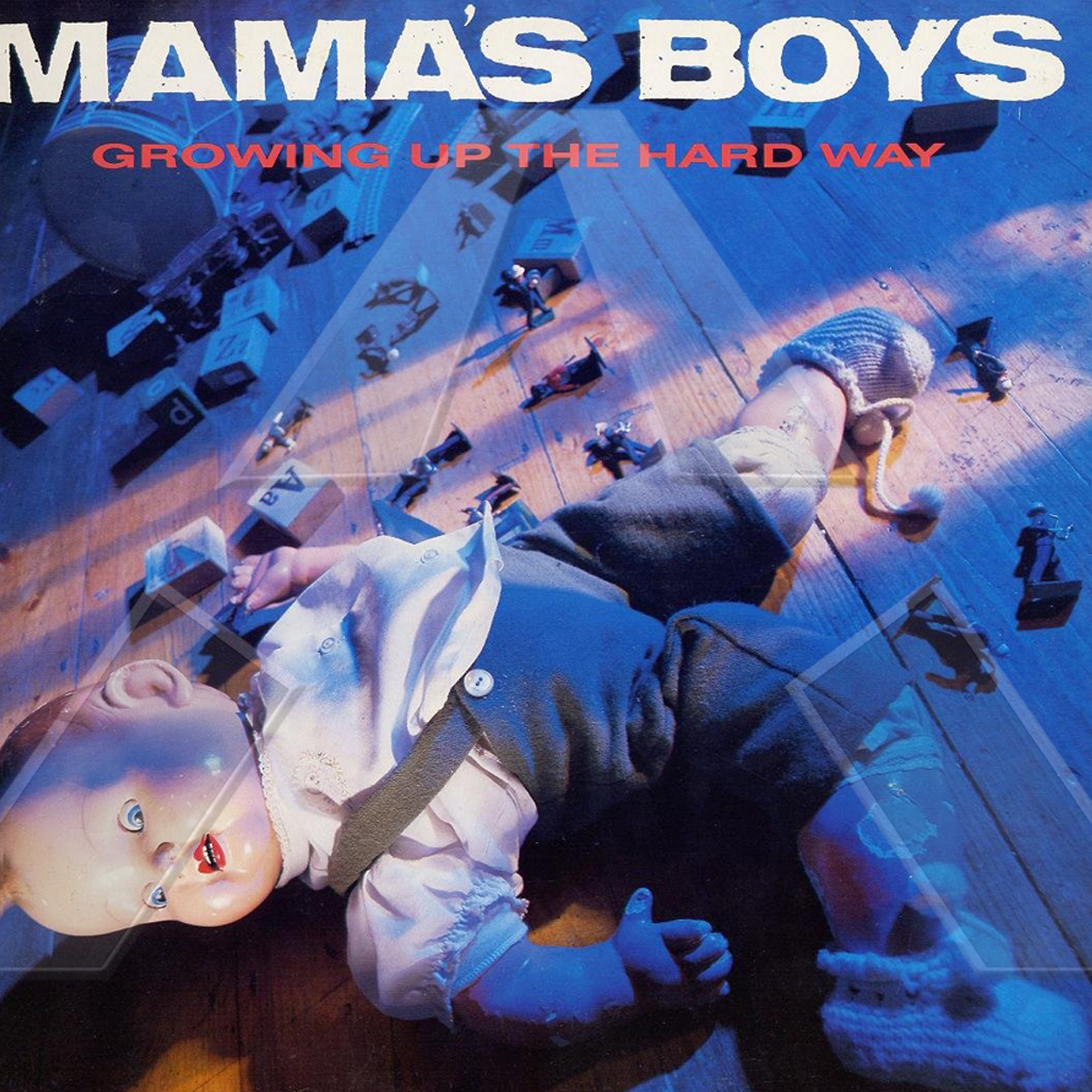 Mama´s Boys ★ Growing Up the Hard Way (vinyl album US)