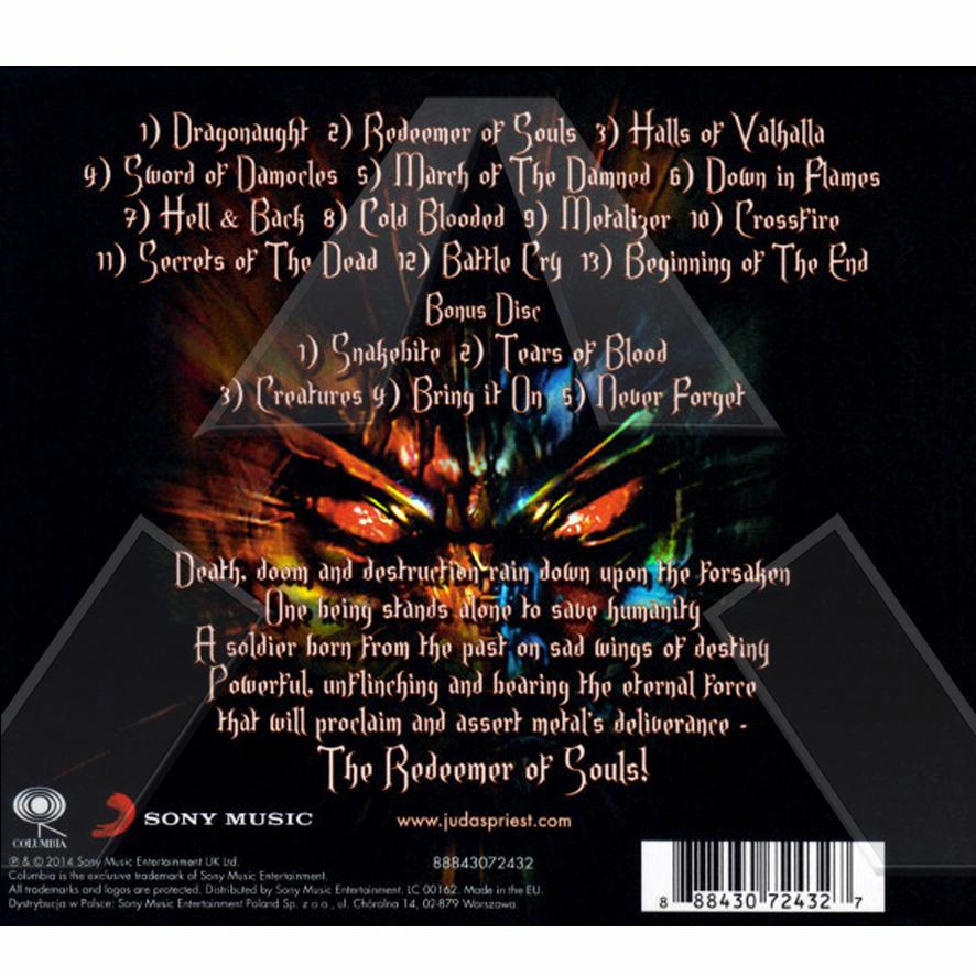 Judas Priest ★Redeemer of Souls - Deluxe Limited Edition (cd album EU 88843072432)