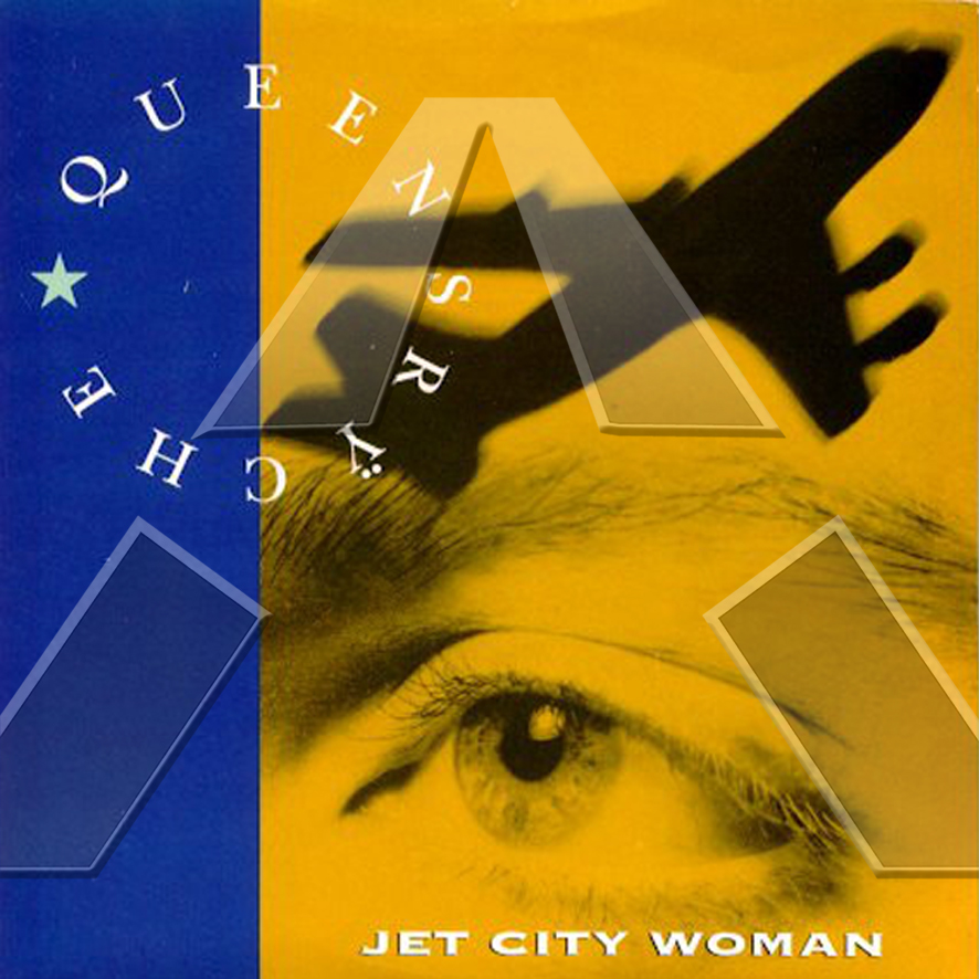 Queensrÿche ★ Jet City Woman (vinyl single - UK MT98)