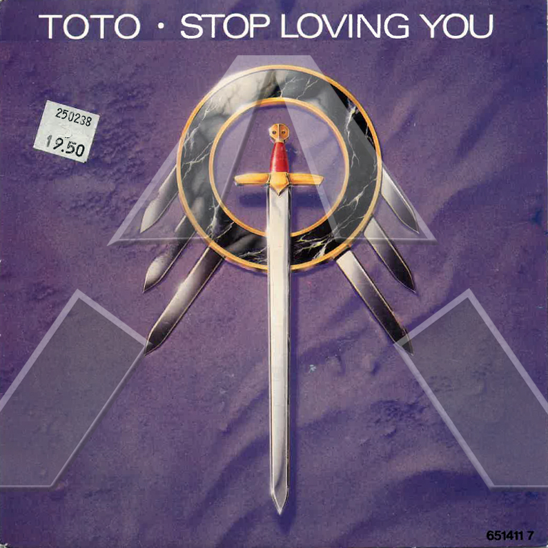 Toto ★ Stop Loving You (vinyl single EU)