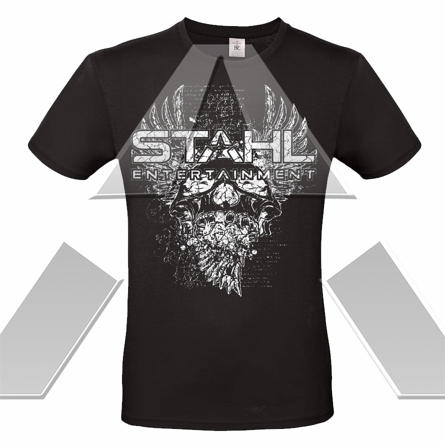 STAHL ★ Rock ´n´ Roll Skull (t-shirt - 12 versions)