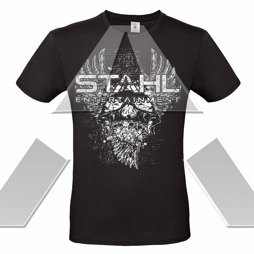 STAHL ★ Rock ´n´ Roll Skull (t-shirt - 12 versions)