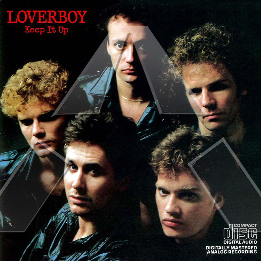 Loverboy ★ Keep It Up (cd album - HOL CDCB25436)
