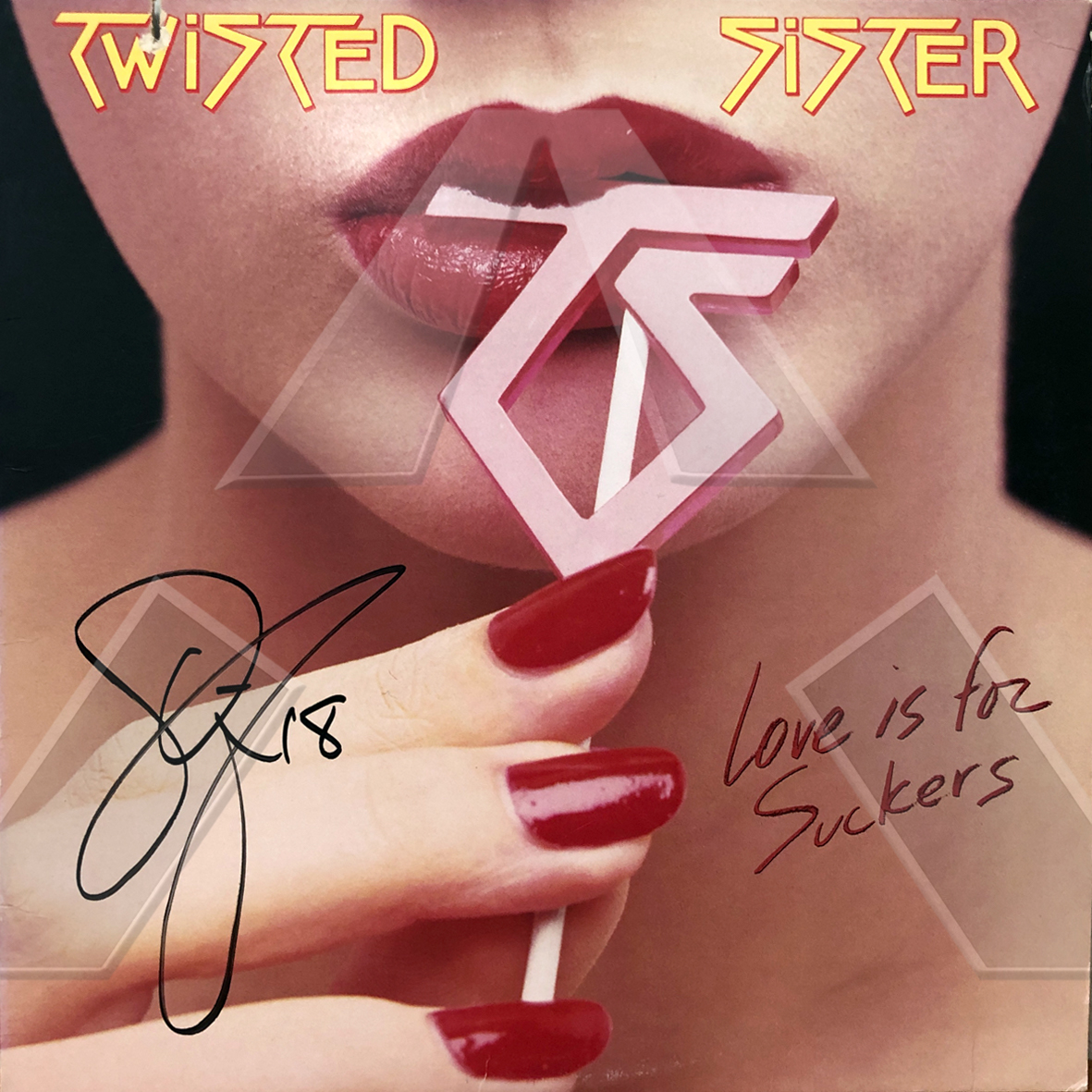 Twisted Sisters ★ Love is for Suckers (vinyl album US signed)
