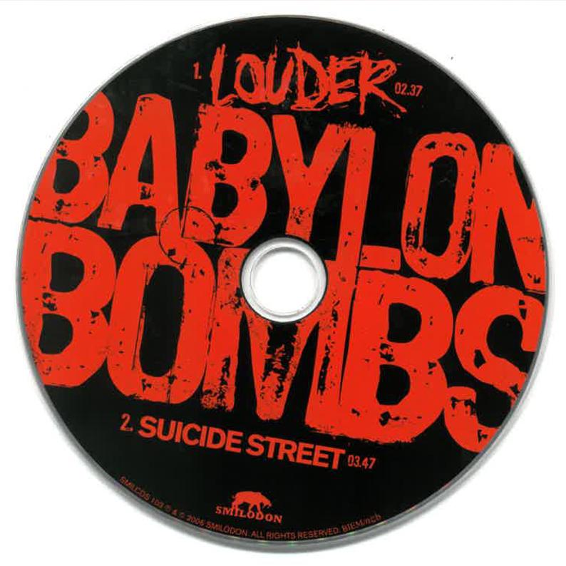 Babylon Bombs ★ Louder (cd single EU)