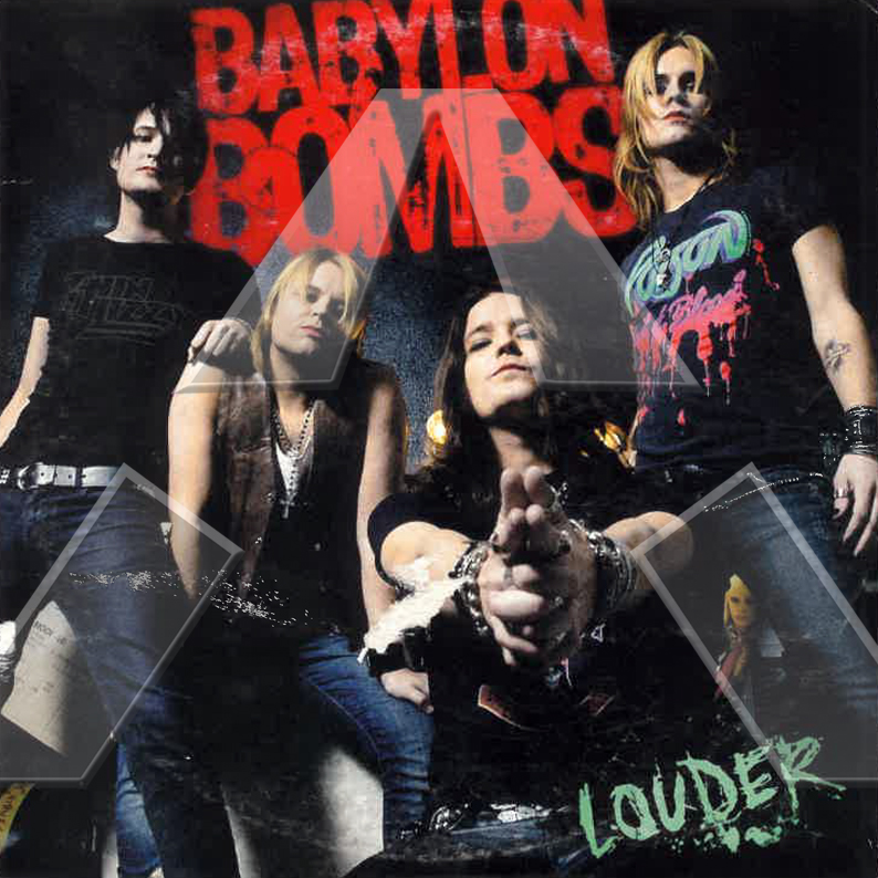 Babylon Bombs ★ Louder (cd single EU SMILCDS103)
