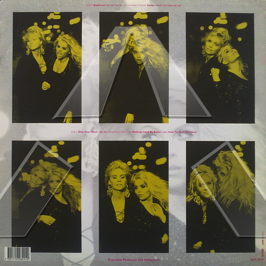 Lilli & Sussie ★ The Sisters (vinyl album - SE  SLP2829)