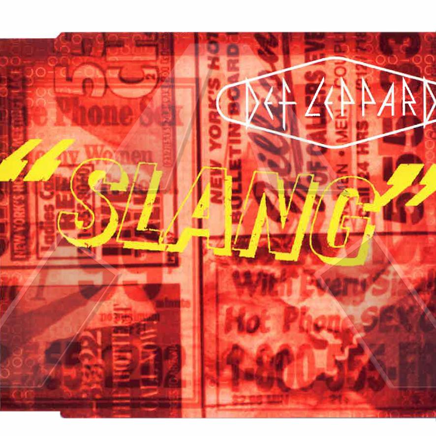 Def Leppard ★ Slang (cd single EU LEPCD158529652)