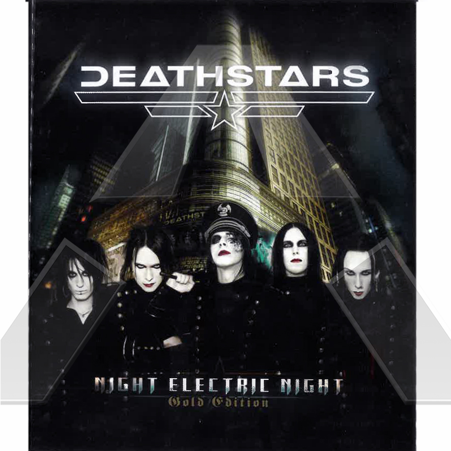 Deathstars ★ Night Electric Night- Gold Edition (cd album & dvd  EU)