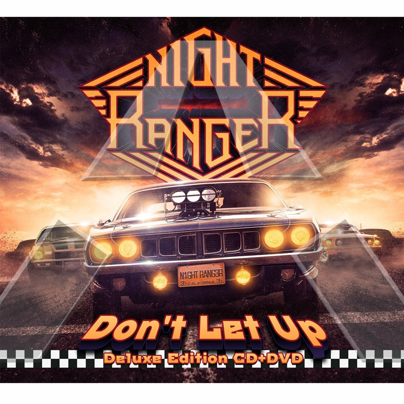 Night Ranger ★ Don´t Let up (cd & dvd)