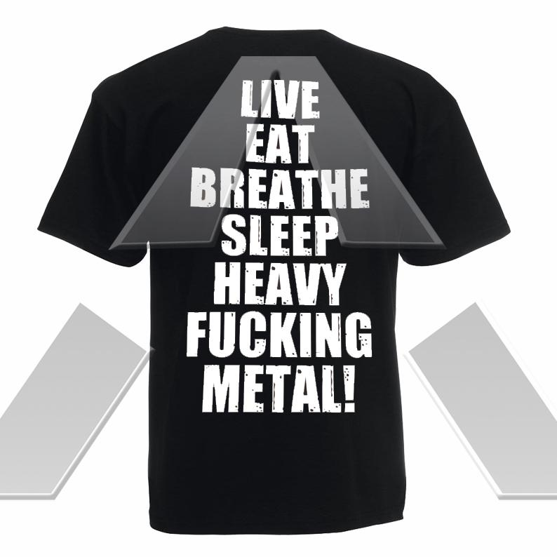 Raven ★ Live Eat Breathe (t-shirt)
