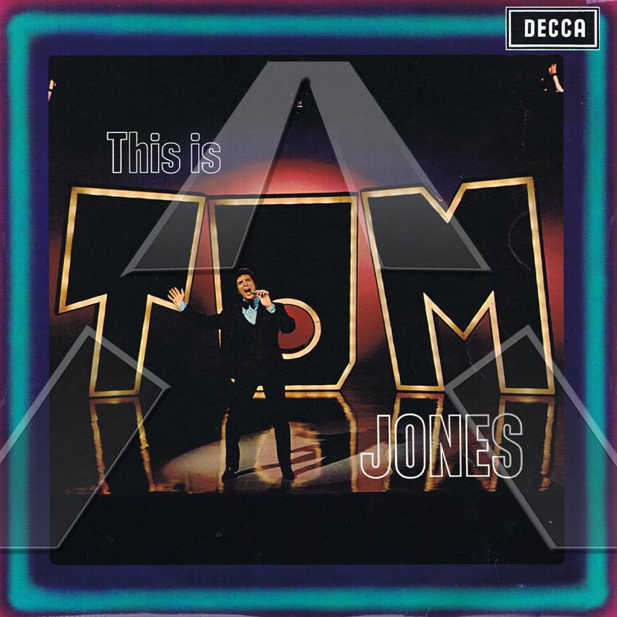 Tom Jones ★ This Is Tom Jones (vinyl album - UK SLK5007)