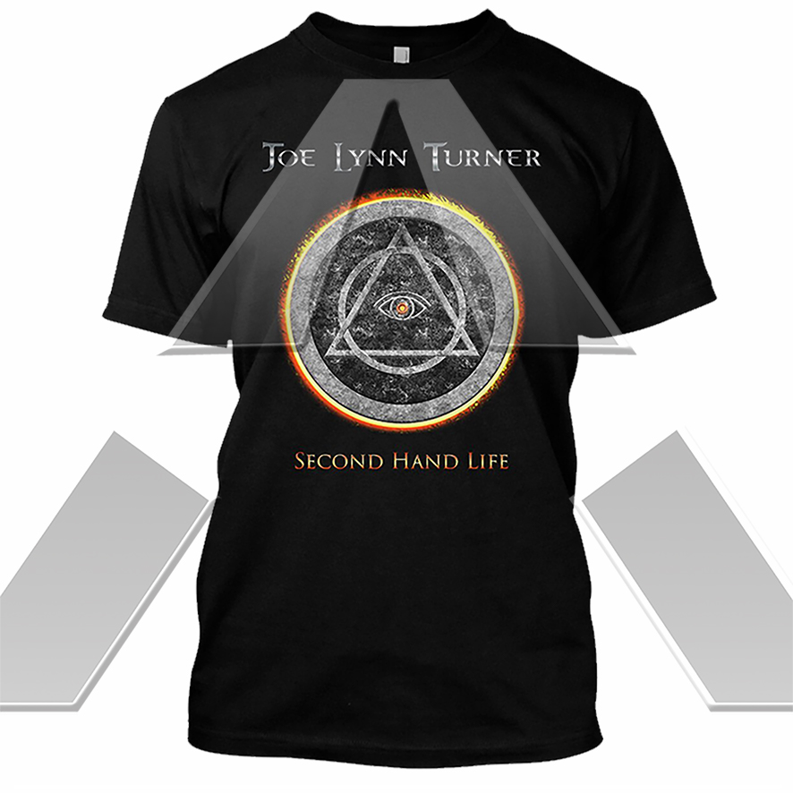 Joe Lynn Turner ★ Second Hand Life (t-shirt - 4 versions)