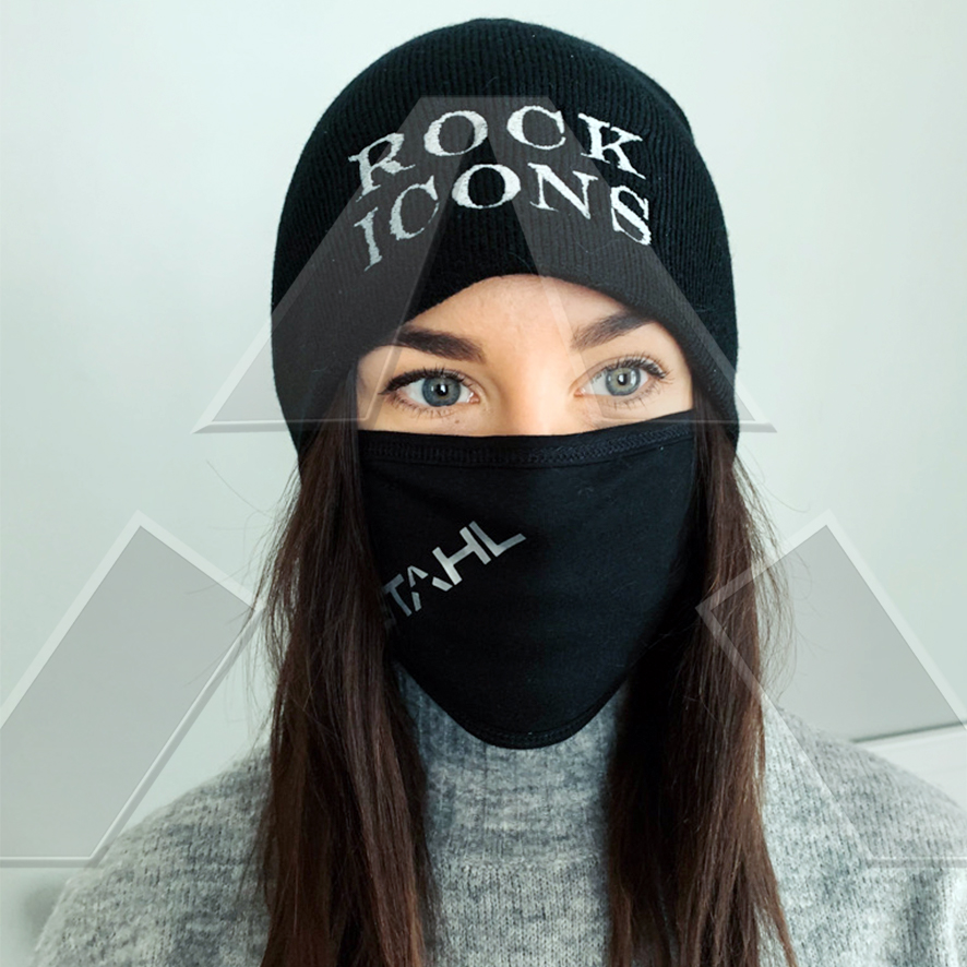 STAHL ★ Face Mask + Rock Icons Beanie I